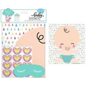 Baby Shower Pin the Dummy on the Baby Game | Oscar & Me - Children's Clothing