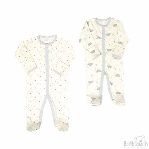 Baby Twin Pack Sleepsuits