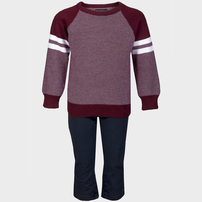 Boys 2-piece Jumper & Chino Outfit | Oscar & Me - Children's Clothing
