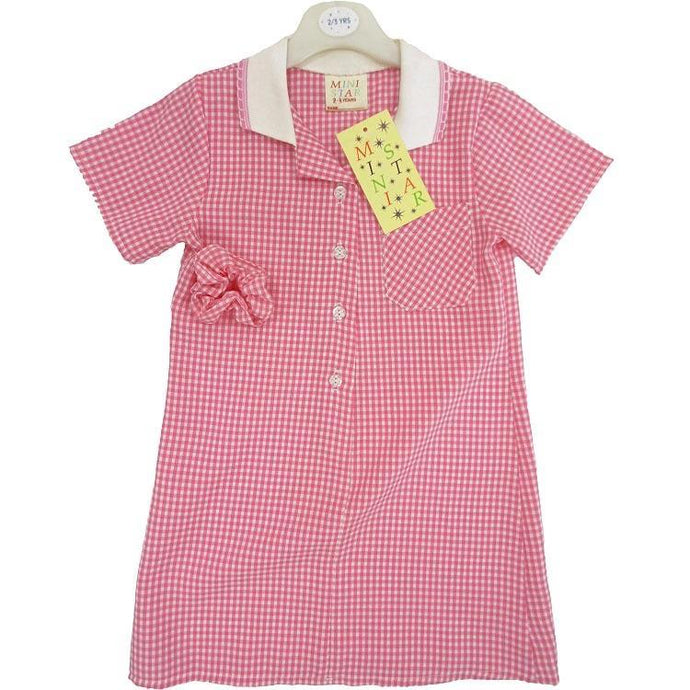 Pink Gingham Dress | Oscar & Me - Children's Clothing