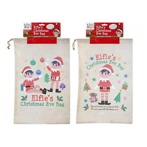 Large Elfie's Christmas Eve Bag