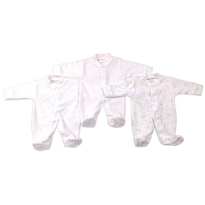 Premature Baby Velour all in one | Oscar & Me - Children's Clothing