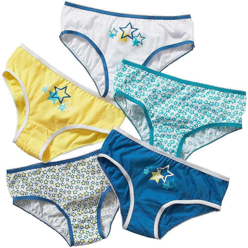 Girls 5 Pack of Briefs | Oscar & Me - Children's Clothing