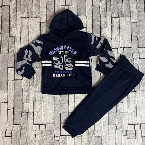Boys Urban Camo Lounge Set
