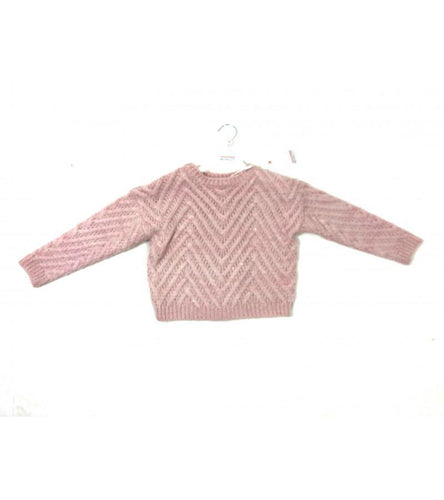Girls Sequins Oversize Jumper | Oscar & Me - Children's Clothing