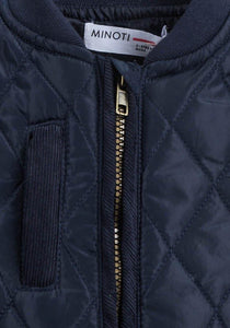 Baby Boys Diamond Quilted Jacket