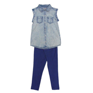 Girls Shirt & Legging Outfit | Oscar & Me - Children's Clothing