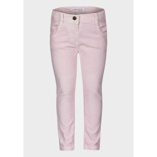 Baby Girls Corduroy Trousers - Pink