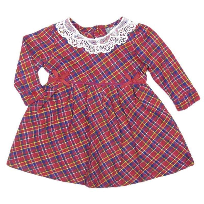 Baby Girls Tartan Flannel Dress