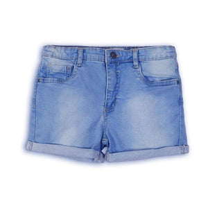 Girls Mid Wash Denim Short | Oscar & Me - Children's Clothing