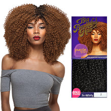 OUTRE HUMAN HAIR BLEND WEAVE PREMIUM PURPLE PACK 1 PACK SOLUTION BIG BEAUTIFUL HAIR 3C-WHIRLY