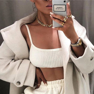 Hugcitar high waist casual loose cargo pants 2019 autumn winter women fashion streetwear trousers