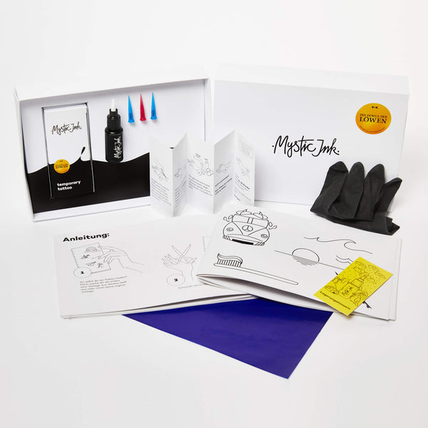 Mystic Ink Tattoo Adventure Set für Beginner