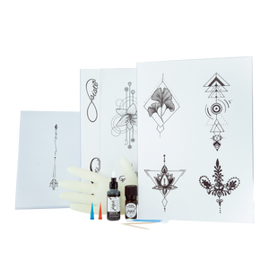 Jagua Gel 20 ml Set inkl. Tattoovorlagen