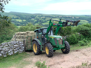 Hay Making on Dartmoor - A bit of a squeeze!