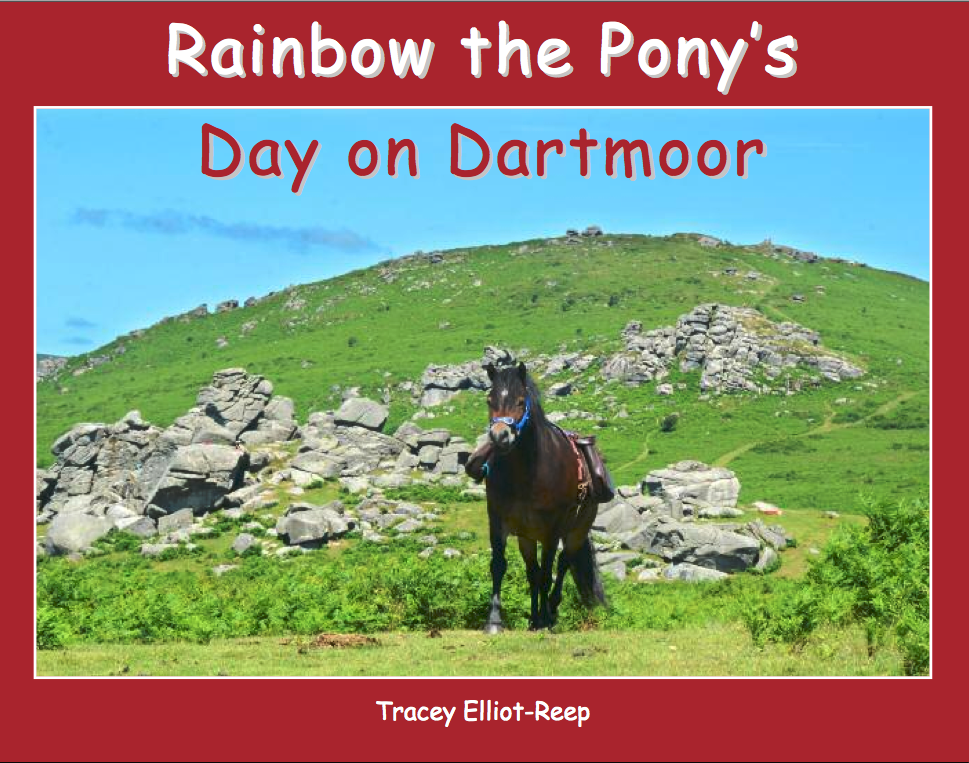 The front cover of Rainbow the Pony's latest book