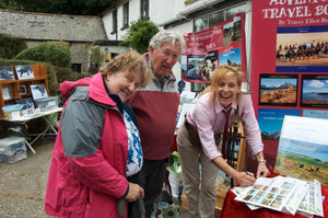 Launching my new book at Widecombe Fair!