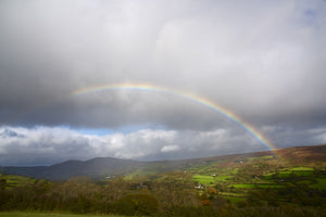Chasing Rainbows -  Widecombe Valley on Dartmoor