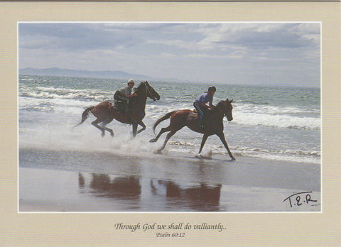 S001 - Surf Riding - Scripture Card - Rectangle
