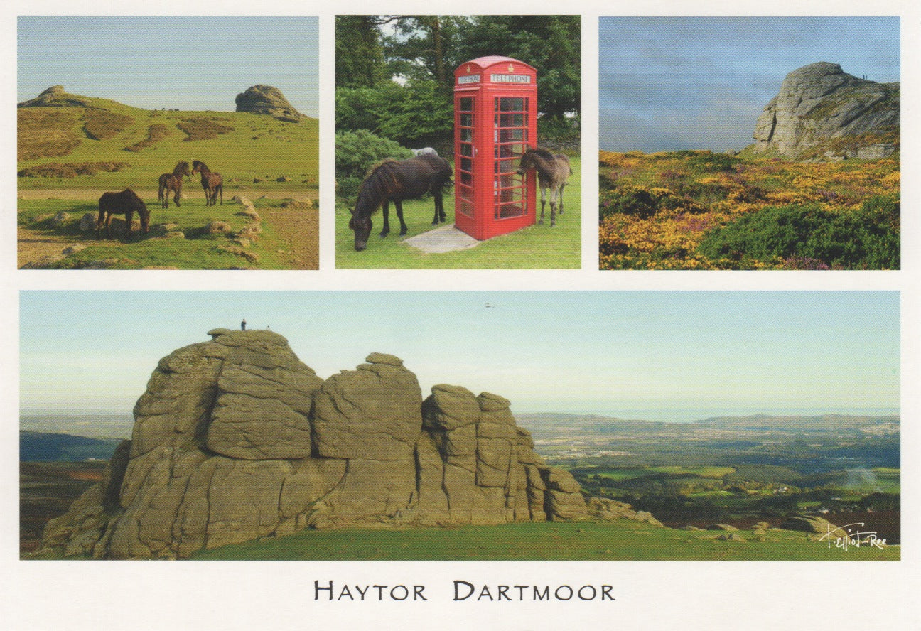 P059 - Haytor Dartmoor - Postcard - Regular - Pack of 10
