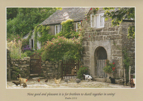 S063 - Farmyard - Scripture Card - Rectangle