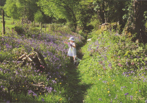 C080 - Bluebell Lane - Blank Card - Rectangle