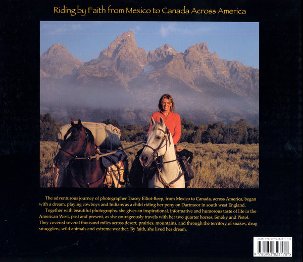B02 - Riding by Faith across North America - Hardback Book