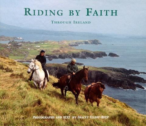 B04P - Riding by Faith Through Ireland - Paperback Book