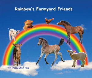 B09 - Rainbow's Farmyard Friends - Boxset of all 7 Flexi-Cover Books Plus a free book 'A Day On Dartmoor with Rainbow the Pony' worth £5.95