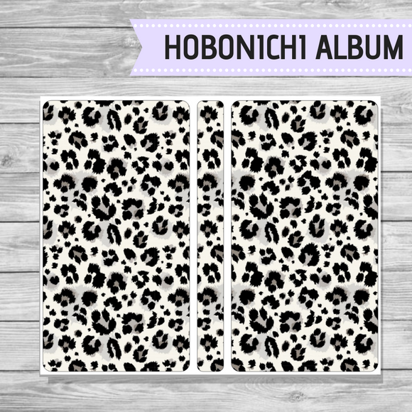 Hobonichi Sticker Album - Snow Leopard