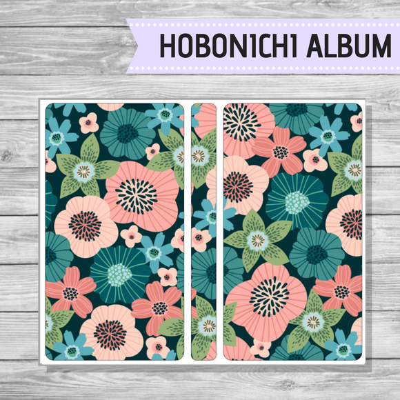 Hobonichi Sticker Album - Betty Bloom