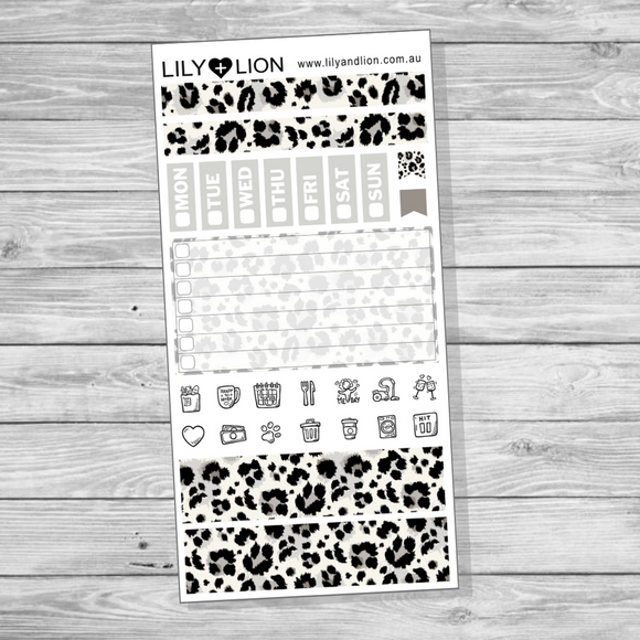 Hobonichi Mini Kit - Snow Leopard