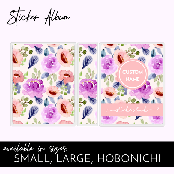 STICKER ALBUM: IN BLOOM