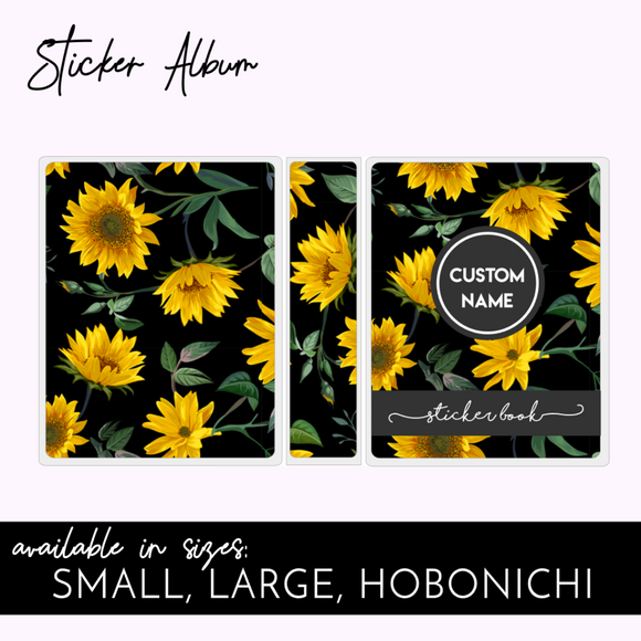 STICKER ALBUM: SUNFLOWER