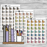 Planners on a Shelf Mini Icon