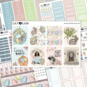 Easter Wishes - Kit 7 Pages