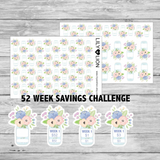 52 Weeks - Savings Jar Challenge