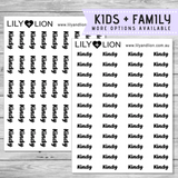 Script Words - KIDS & FAMILY