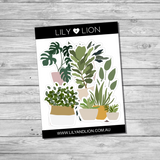 Sticker Die Cut Bundle - House Plants