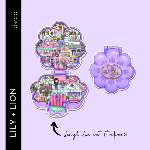 POLLY POCKET - Pet Life Die Cuts (2)