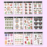 CHRISTMAS MINI SHEETS