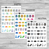 Pet Collection Icons
