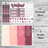 Rain + Roses - Kit 7 Pages