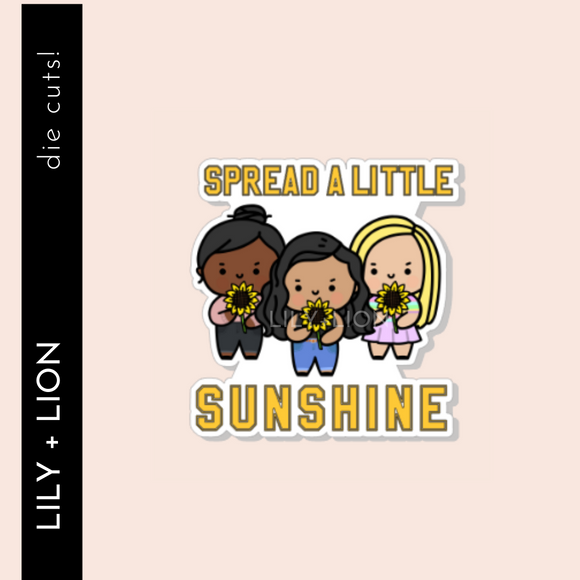 SPREAD SUNSHINE DIE CUT
