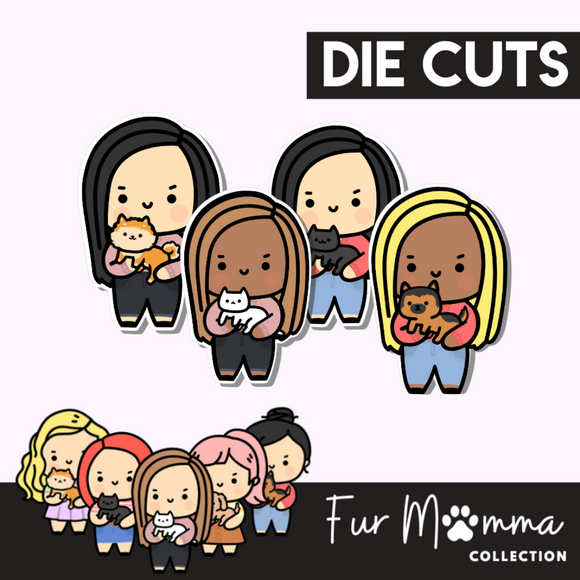 Fur Mumma Collection Die Cut