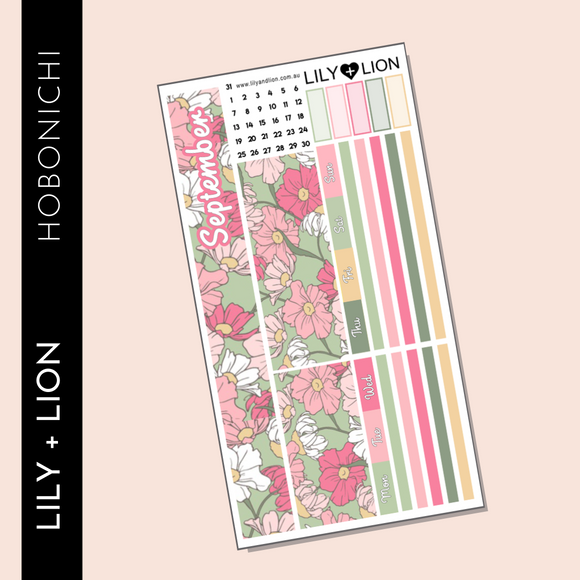 Hobonichi WEEKS Monthly Kit - CHOOSE YOUR MONTH Payton