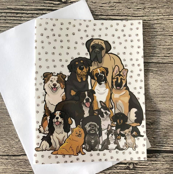 GREETING CARD - DOG LIFE