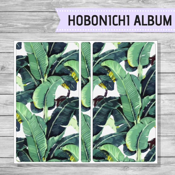 Hobonichi Sticker Album - Leaves
