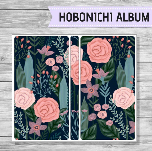 Hobonichi Sticker Album - Blossom