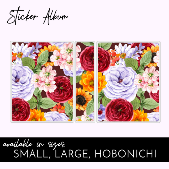 STICKER ALBUM: Flower Explosion